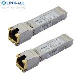 10/100/1000 Base-T RJ45 30m óptica SFP Transceptor de cobre
