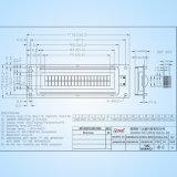 Écran LCD bleu/vert du caractère 20*02 de petite taille