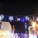 Licht van het Motief van de Decoratie van Kerstmis van de Decoratie van Kerstmis het Lichte Openlucht