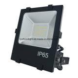 luz de inundación al aire libre de 100W IP65 LED para la iluminación de la corte del hockey del estadio