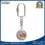 Металла подарка дела кольцо выдвиженческого ключевое