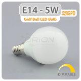 Preço baixo B22 E27 Luz da lâmpada LED de 5 W