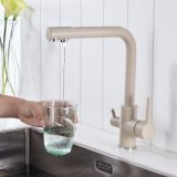 Flg Filtro de 3 vías de agua potable Sanitarios toca grifo de cocina