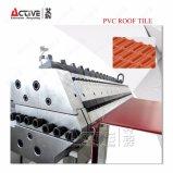 Китай производитель пластмассовых кровельной плитки лист формовочная машина