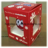 Weihnachtskugel mit Firmenzeichen
