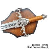 Decoração Home 98cm HK8293 da tabela das espadas do cavaleiro da decoração