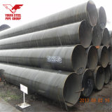 API 5Lの水配達、構築のためのASTM A252の炭素鋼の螺線形の溶接鋼管