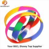Multi braccialetto del silicone di colore dei 2015 nuovi prodotti da vendere