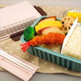 Casella di pranzo di plastica di Bento del contenitore di alimento 20007