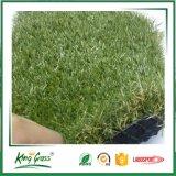 運動場の庭の裏庭のための柔らかい景色の人工的な草
