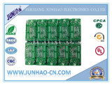 Изготавливание PCB Двойн-Стороны Fr-4 2layer зеленое