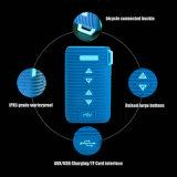 W6t imprägniern Gummi das bewegliche Bluetooth Lautsprecher-Fahrrad des Silikon-Ipx5, das Audio wandert