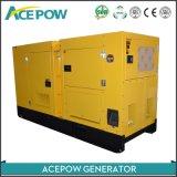 AC trois phase 100kVA générateur Cummins à faible bruit avec l'ATS prix d'usine