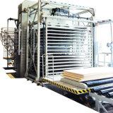 Piso de madeira laminado composto Banheira Pressione Automação completa linha de produção