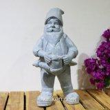 Estátua ao ar livre da râ do anão da decoração do jardim do artesanato