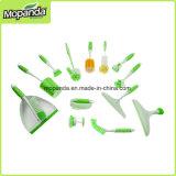 Tipos diferentes de escova plástica da lavagem do agregado familiar