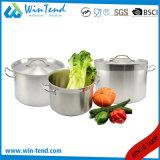 Crisol común de enfriamiento del compartimiento de la sopa del acero inoxidable