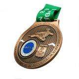 ترقية زبونة [3د] تصميم رياضة معدن وسام لأنّ تذكار