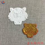 Animal personalizado Preto e Branco Dachshund Cão Patch TPU partículas vestido de transferência de calor para o rótulo TPU macio