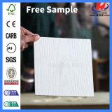 L'intérieur du grain du bois moulé blanc porte d'apprêt de la peau (JHK-013)