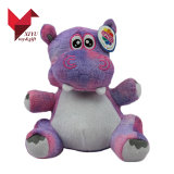 Het hete OEM van de Verkoop Stuk speelgoed Hippo van de Pluche van het Nieuwe Product van de Douane Dierlijke