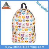 Form-Lächeln-Gesichts-Schule-Schulter-im Freiendrucken-Rucksack