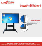 OPSのパソコンの組み込みの対話型のタッチスクリーンのキオスク対話型のWhiteboardが付いている85インチLCDの表示