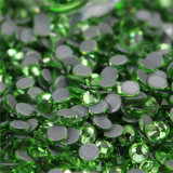 의복을%s 편평한 뒤 Hotfix 도매 둥근 수정같은 모조 다이아몬드
