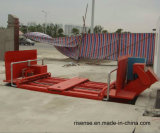 自動トラックの車輪の洗濯機機械