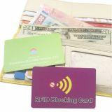 Der Schoner der Sicherheits-RFID, der Karte blockt, schützen Ihre persönliche Information