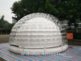 거대한 판매를 위한 공기에 의하여 밀봉되는 튼튼한 팽창식 명확한 거품 천막