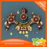 Riesiger Schloss-Serien-Kind-Spielwaren-Spiel-Haus-Plastik schiebt für Verkauf