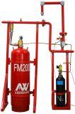 Pulire i sistemi di soppressione del fuoco dell'agente con FM200
