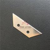 Sk2 Trapezoide serrada de la hoja de la utilidad de la cuchilla de reemplazo para la industria de alfombras