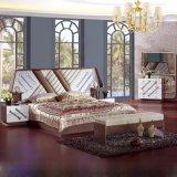 Het Meubilair van de slaapkamer met Antiek Bed voor het Meubilair van het Huis (6613 die) wordt geplaatst