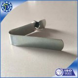 Clip à ressort simple chaud de bouton d'acier inoxydable de forme de v de pièce en métal de vente