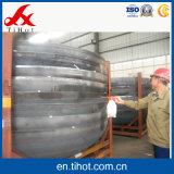 Tête d'acier inoxydable pour la monture d'assiette d'acier du carbone de récipient à pression