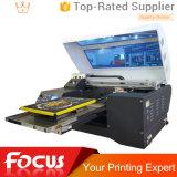 Base plana del tratamiento previo de la impresora del DTG directa a la ropa