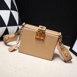 イタリアデザイナー方法ボックス整形ハンドバッグ100%の実質の革製バッグの女性ショルダー・バッグEmg5149