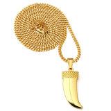 Reeks van de Juwelen van de Manier van de Halsband van het roestvrij staal de Gouden