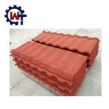 Mattonelle di tetto d'acciaio rivestite della pietra di marca di Wante popolari in Nigeria/Bangladesh/Kenia