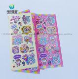 Aangepaste Gezwollen Sticker voor de Decoratie van het Plakboek van Jonge geitjes