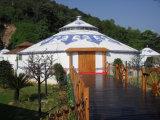 Bóveda grande vendedora caliente Yurt de la tienda de campaña de la familia 2017
