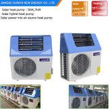 L'acqua calda sanitaria domestica 220V di Tankless 60deg c risparmia l'energia 5kw, 7kw, riscaldatore di 80% di acqua calda solare ibrido della pompa termica 9kw alto Cop5.32
