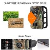 12MP HD 1080P водонепроницаемый невидимое ИК камера охоты