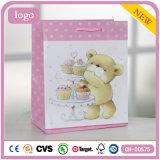 Geburtstag-Kuchen-Bären-Kleidungs-Andenken-Verzierung-Geschenk-Papierbeutel
