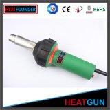canon de chaleur en plastique tenu dans la main de soudure de l'air 1600W chaud pour le HDPE de PVC pp de PE de soudure
