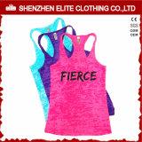 Senhoras executando personalizado Camisolas de algodão para Mulheres Ginásio (ELTWBJ-69)