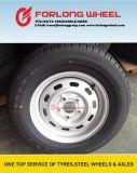 14inch 타이어를 가진 유럽 작은 편평한 트레일러 바퀴