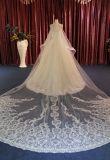 Vestido de casamento elegante do laço